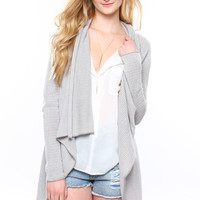 BB Dakota Fenna Draped Cardigan