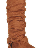 Nina Bow Back Boot
