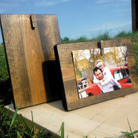 Rustic Picture Frame - Wood Picture Frame
