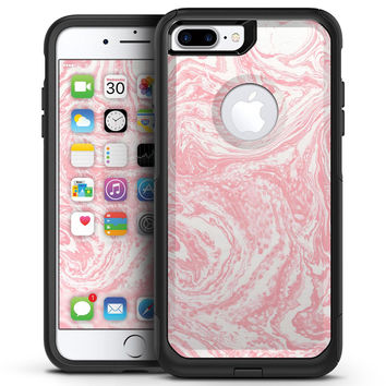 Marbleized Pink v3 - iPhone 7 or 7 Plus Commuter Case Skin Kit