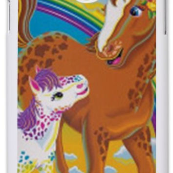 Custom LISA FRANK Neon Horse and Pony 90's  Phone Case IPhone 4/4s IPhone 5 Galaxy S3 Galaxy S4 Galaxy Note 3