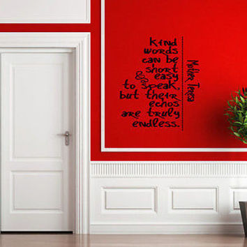 Imagine, Desire, Act quote wall sticker quote decal wall art decor 5243
