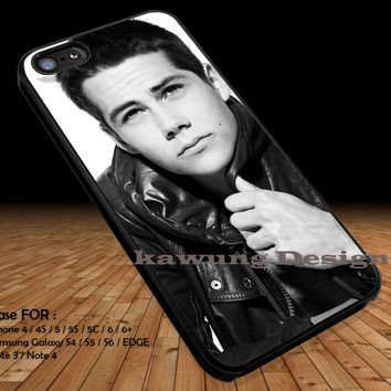 Dylan O' Brien Teen Wolf  iPhone 6s 6 6s+ 5c 5s Cases Samsung Galaxy s5 s6 Edge+ NOTE 5 4 3 #movie #TeenWolf DOP298