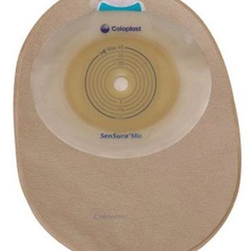 SenSura Mio Filtered Ostomy Pouch One-Piece System, Opaque - Box of 30