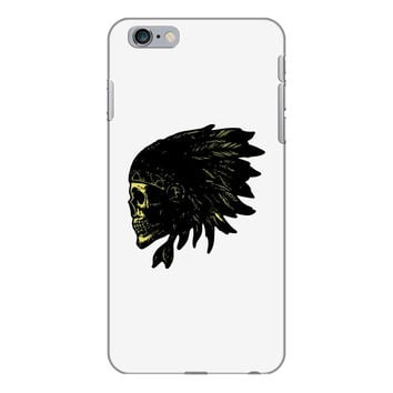 indian skull native american iPhone 6/6s Plus Case