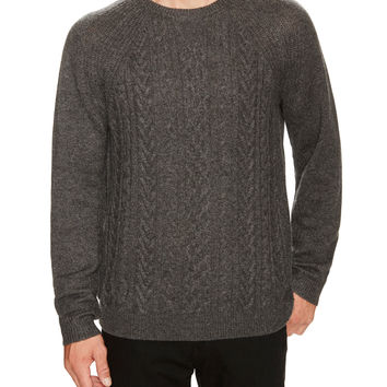 Dartmoor Men's Cable Knit Cashmere Sweater -