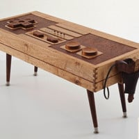 Nintendo Wii Controller Coffee Table with by BohemianWorkbench