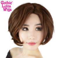Lace Front Dainty Bob - Chocolate Brown - 00760