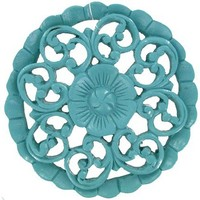 Turquoise Round Wall Plaque | Shop Hobby Lobby