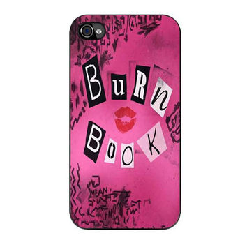 burn book mean girls iPhone 4 4s 5 5s 5c 6 6s plus cases