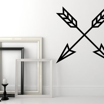 Arrow Wall Decal, Geometric Wall Decal, Arrow Nursery Decor, Southwestern Wall Decor, Arrow Dorm Decor, Modern Wall Decor, Triangle Decal
