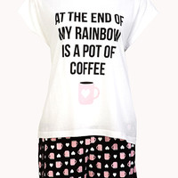 End Of Rainbow PJ Set
