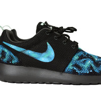 Roshe Galaxy Custom Made to Order Women's Nike Rosherun Hand Painted