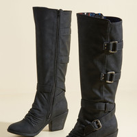 Another Year Bolder Block Heel Boot | Mod Retro Vintage Boots | ModCloth.com