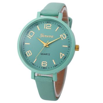 Women  Large Face Analog Quartz Watches