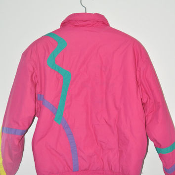 Vintage Fila puffy jacket