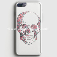 Floral Skull iPhone 7 Plus Case | casefantasy