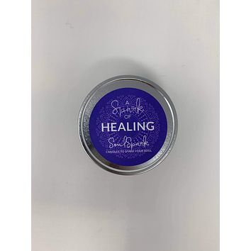 A Spark of Healing Candle