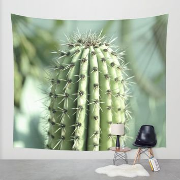 Cactus  Wall Tapestry by VanessaGF