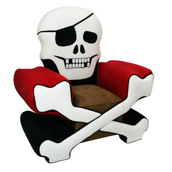 Komfy Kings, Inc 11300 Skull Chair Boy