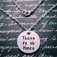 Fall Out Boy Thnks Fr Th Mmrs Necklace