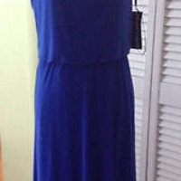 NEW Authentic FRANK LYMAN Design Royal Blue Long Knit Dress (Size 8 & 12)