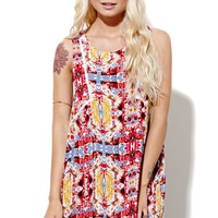 MinkPink Combi Garden Dress - Womens Dress - Multi - Small