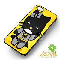 Batman Hello kitty yellow -sww for iPhone 4/4S/5/5S/5C/6/ 6+,samsung S3/S4/S5/S6 Regular/S6 Edge,samsung note 3/4