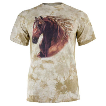 Quarter Horse Tie-Dye Adult T-Shirt