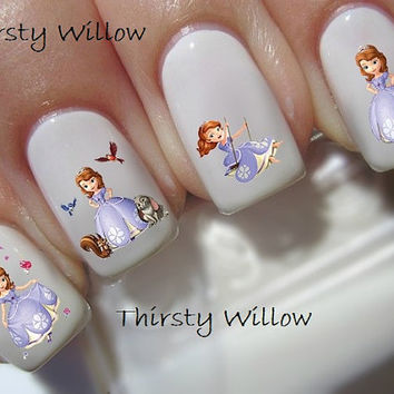 Disney Sofia The First Nail Decals