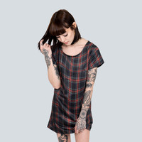 Crazy Plaid Dress