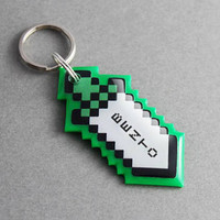 Pet ID Tag Pixel Sword - Video Game, Gamer, Gaming, Nerd, Geek, Retro, Personalized, Custom, Dog ID Tag, Cat ID Tag