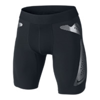 Nike Pro Combat Hyperstrong Compression Slider Men's Soccer Shorts - Black