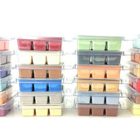WHOLESALE LOT OF 24 premium soy wax melts - wholesale candles - wax melter - soy wax melts - christmas wax melts - fall wax tarts