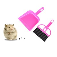 Cleaning Kit Dustpan Broom Sweep Kit for Pet Hamsters because they are messy and Guinea pigs are clean.