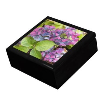 Colorful Hydrangeas Floral Gift Box