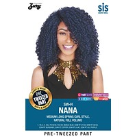 Zury SIS SW-Lace H Nana Curly Lace Wig Pre-tweezed Part