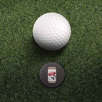 Natty Boh / Hat Clip with Magnetic Ball Marker