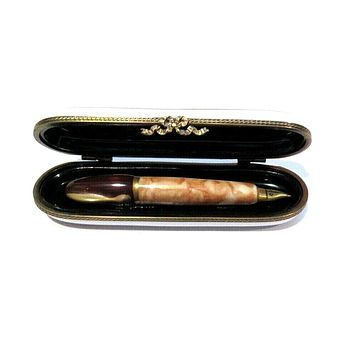 Fountain Pen Limoges Box
