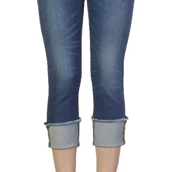 Dear John Playback Cuffed Siena Cropped Straight Leg Jeans