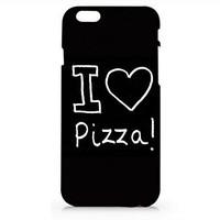 Amazon.com: I Love Pizza Black Quotes Iphone 6 6S Case, Black Matt Iphone 6 6S Hard Cover Case For Apple Iphone 6/6S -Emerishop (AH1169): Cell Phones & Accessories