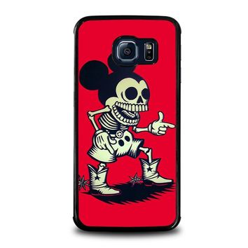 MICKEY MOUSE ZOMBIE Disney Samsung Galaxy S6 Edge Case Cover