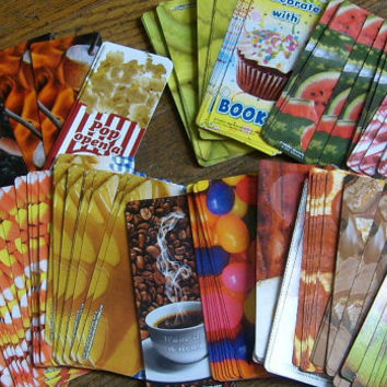 scratch n sniff bookmarks or cards for party favors teacher rewards assorted lot of 20 unused nice rare