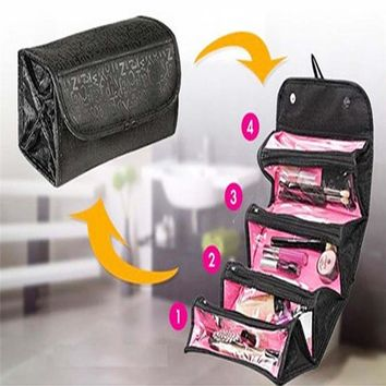 Make Up Organizer Bag Beautician Women Casual Travel Bag Multi Functional Cosmetic Bag Cosmetics Storage Bag Ladies Organizador