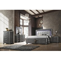 Beverly Collection 3pc by HD Furniture