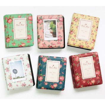 Wanna this Pour vous flower pattern instax mini photo album