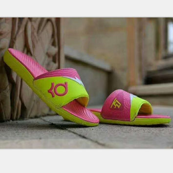 NIKE Casual Fashion Women Sandal Slipper Shoes pink H-PSXY
