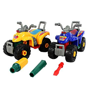 Motorcycle Toy Model Disassembly Assembly Baby Toy Beach Motorcycle Kids Educational Toys for Children Random Color