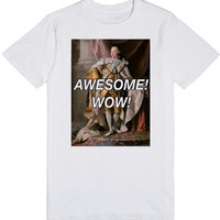 Awesome! Wow! | T-Shirt | SKREENED