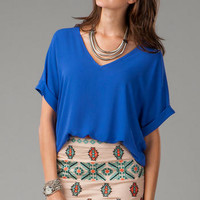 VALLECITO EMBROIDERED SKIRT